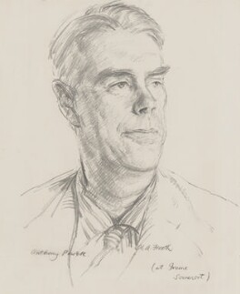 Anthony Powell, by Hubert Andrew Freeth - NPG 5093