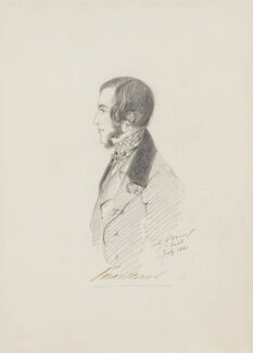 Richard Wingfield, 6th Viscount Powerscourt, by Alfred, Count D'Orsay - NPG 4026(47)
