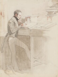 Winthrop Mackworth Praed, by Daniel Maclise - NPG 3030