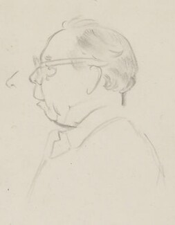 J.B. Priestley, by Sir David Low - NPG 4529(280)