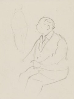 J.B. Priestley, by Sir David Low - NPG 4529(281)