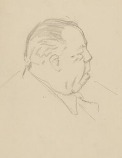 J.B. Priestley, by Sir David Low - NPG 4529(283)
