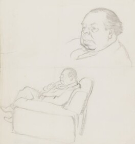 J.B. Priestley, by Sir David Low - NPG 4529(284)