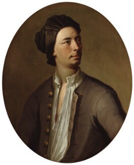 Unknown man, formerly known as Matthew Prior, attributed to Michael Dahl - NPG 3682