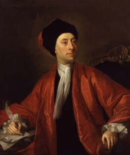Matthew Prior, by Thomas Hudson, after  Jonathan Richardson - NPG 562