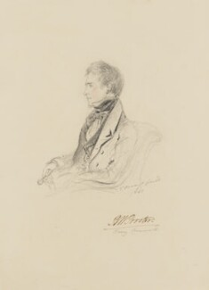 Bryan Waller Procter (Barry Cornwall), by Alfred, Count D'Orsay - NPG 4026(48)