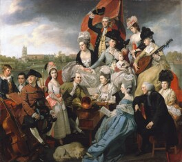 The Sharp Family, by Johan Joseph Zoffany - NPG L169