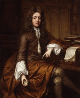 Unknown man, formerly known as Daniel Purcell, by Unknown artist, circa 1700 - NPG 1463 - © National Portrait Gallery, London