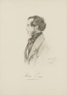 John Home Purves, by Alfred, Count D'Orsay - NPG 4026(49)
