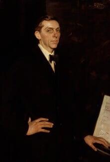 Roger Quilter, by Wilfrid Gabriel de Glehn, 1920 - NPG 3904 - © National Portrait Gallery, London