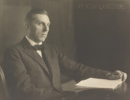 Roger Quilter, by Herbert Lambert, circa 1922 - NPG P110 - © National Portrait Gallery, London