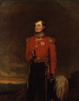 FitzRoy James Henry Somerset, 1st Baron Raglan, by William Salter - NPG 3743