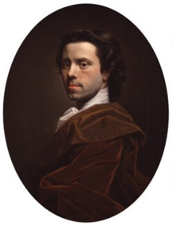 Allan Ramsay, by Allan Ramsay, circa 1737-1739 - NPG 3311 - © National Portrait Gallery, London