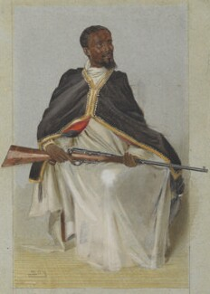Ras Makunnan, by Sir Leslie Ward, published in Vanity Fair 12 February 1903 - NPG 4707(16) - © National Portrait Gallery, London