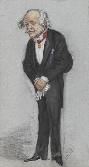 Sir Henry Creswicke Rawlinson, 1st Bt, by Sir Leslie Ward - NPG 4737