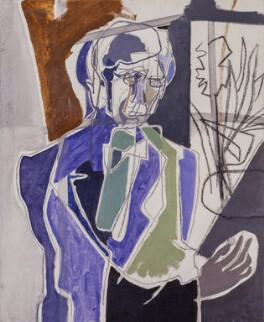 Herbert Read, by Patrick Heron, 1950 - NPG  - © reserved; collection National Portrait Gallery, London