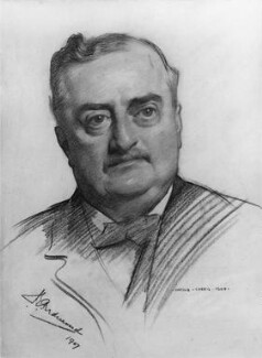 John Edward Redmond, by Harold Speed - NPG 5123