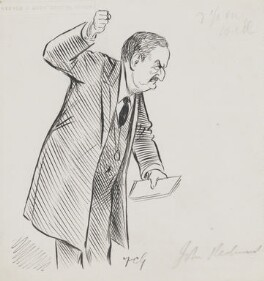John Edward Redmond, by Sir Francis Carruthers Gould ('F.C.G.') - NPG 2855