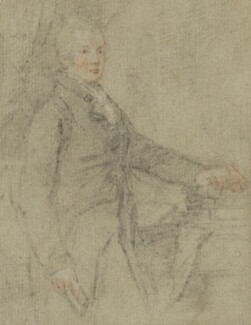 Unknown man, formerly known as Ramsay Richard Reinagle, attributed to Ramsay Richard Reinagle - NPG 3025