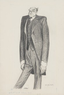 John Charles Walsham Reith, 1st Baron Reith, by Sir David Low - NPG 4566
