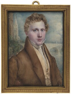 George Rennie, by John Linnell - NPG 3683