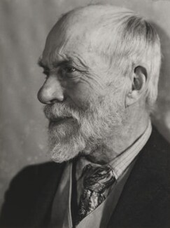 Ernest Rhys, by Lucia Moholy - NPG P131