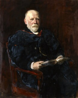 William Hawker Hughes, by Solomon Joseph Solomon - NPG 4697