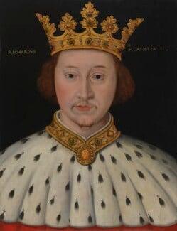King Richard II, by Unknown artist, 1597-1618 - NPG 4980(8) - © National Portrait Gallery, London
