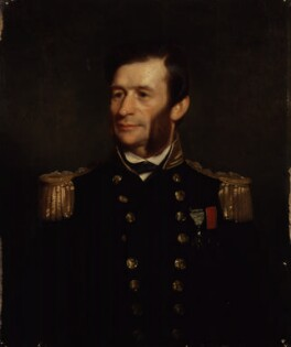 Sir George Henry Richards, by Stephen Pearce - NPG 923