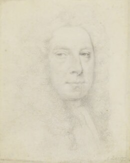 Jonathan Richardson, by Jonathan Richardson, 1730 - NPG 1831 - © National Portrait Gallery, London