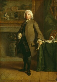 Samuel Richardson, by Joseph Highmore, 1750 - NPG 1036 - © National Portrait Gallery, London