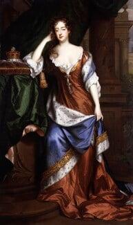 Frances Teresa Stuart, Duchess of Richmond and Lennox, by Willem Wissing, and  Jan van der Vaart - NPG 4996