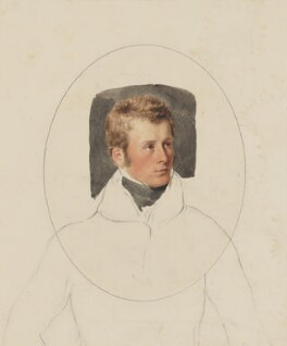 Charles Gordon-Lennox, 5th Duke of Richmond and Lennox, by Thomas Heaphy - NPG 1914(12)