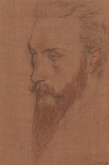 Charles de Sousy Ricketts, by Charles Haslewood Shannon, 1899 - NPG 2631 - © National Portrait Gallery, London