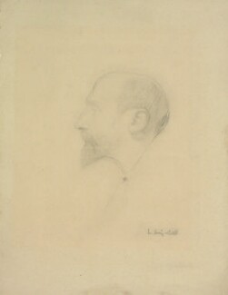 Charles de Sousy Ricketts, by Laura Anning Bell - NPG 3108