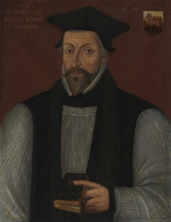 Nicholas Ridley, by Unknown artist - NPG 296