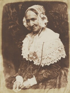 Anne Rigby (née Palgrave), by David Octavius Hill, and  Robert Adamson - NPG P6(128)