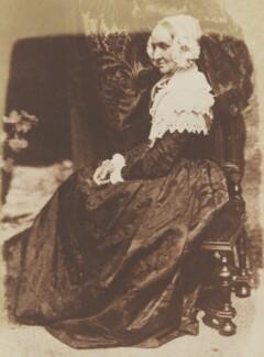 Anne Rigby (née Palgrave), by David Octavius Hill, and  Robert Adamson - NPG P6(132)