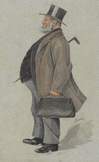 Sir John Rigby, by Harold Wright ('Stuff') - NPG 2995