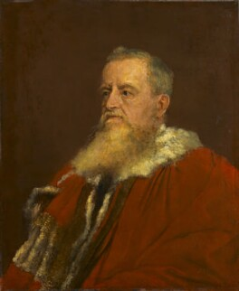 George Frederick Samuel Robinson, 1st Marquess of Ripon and 3rd Earl de Grey, by George Frederic Watts - NPG 1553