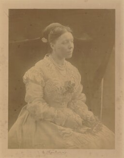 Anne Isabella (née Thackeray), Lady Ritchie, by Julia Margaret Cameron - NPG P53