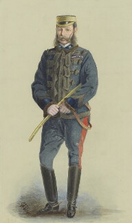 Frederick Sleigh Roberts, 1st Earl Roberts, by 'GWR' (?), published in Vanity Fair 10 April 1880 - NPG 1996 - © National Portrait Gallery, London