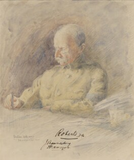 Frederick Sleigh Roberts, 1st Earl Roberts, by Inglis Sheldon-Williams - NPG 4039(5)