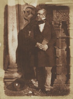 David Roberts, by David Octavius Hill, and  Robert Adamson - NPG P6(90)