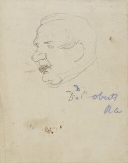 David Roberts, by Charles West Cope - NPG 3182(7)