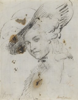 Mary Robinson (née Darby), by or after Sir Joshua Reynolds - NPG 5264