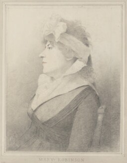 Mary Robinson (née Darby), by George Dance - NPG 1254