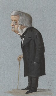 John Arthur Roebuck, by Carlo Pellegrini, published in Vanity Fair 11 April 1874 - NPG 2695 - © National Portrait Gallery, London