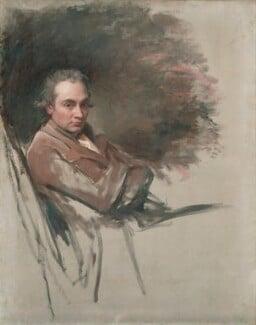 George Romney, by George Romney, 1784 - NPG 959 - © National Portrait Gallery, London