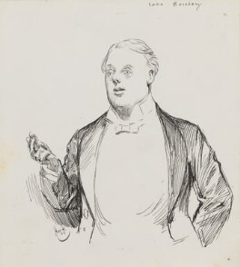 Archibald Philip Primrose, 5th Earl of Rosebery, by Harry Furniss, 1880s-1900s - NPG 3600 - © National Portrait Gallery, London